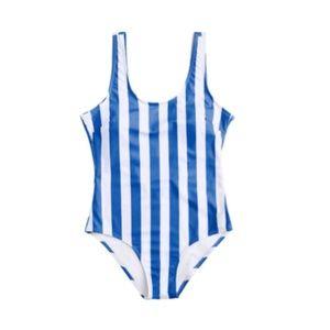 Zaful Striped Swimsuit